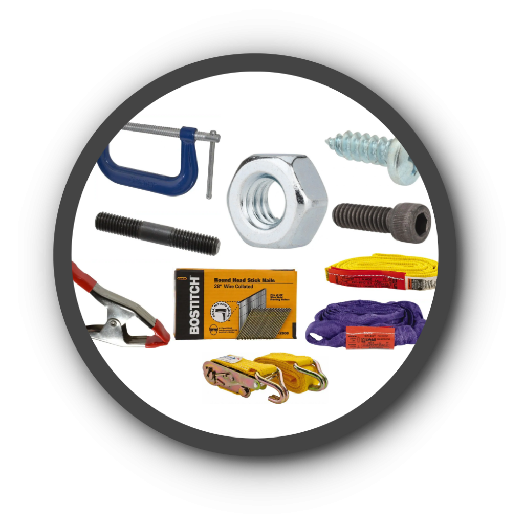 Fasteners, Clamps and Straps