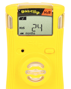 Gas Clip Single Gas Detector, Hydrogen Sulfide (H2S)SGC-H